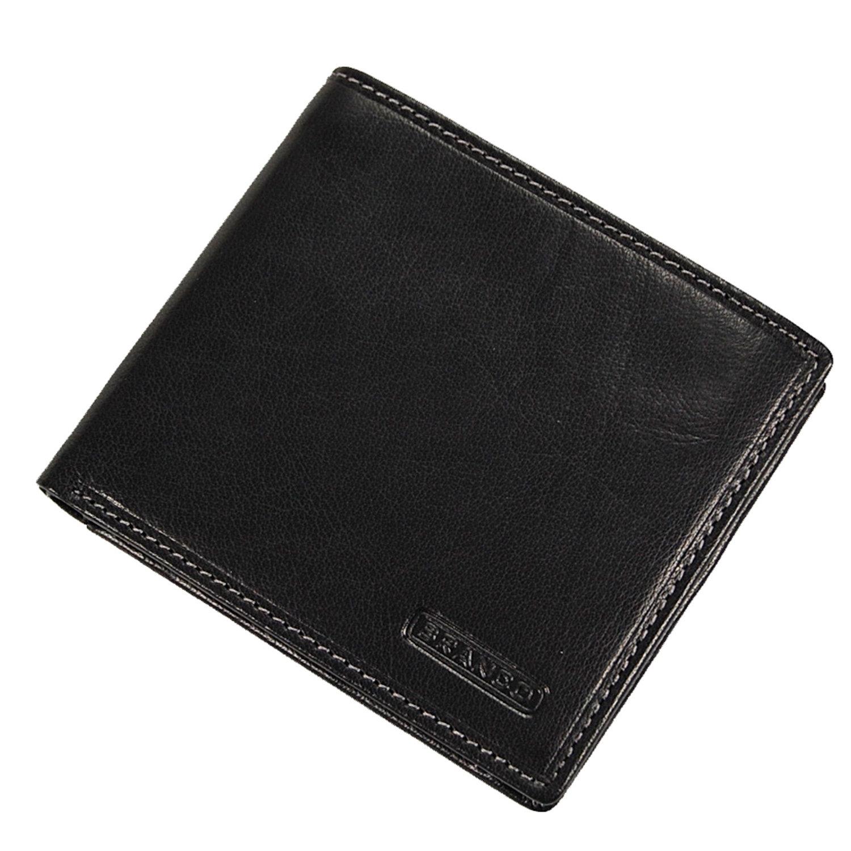 64cc5d91ba761 BRANCO Mały Portfel na banknoty 16389 Skóra czarny | Portfele ...