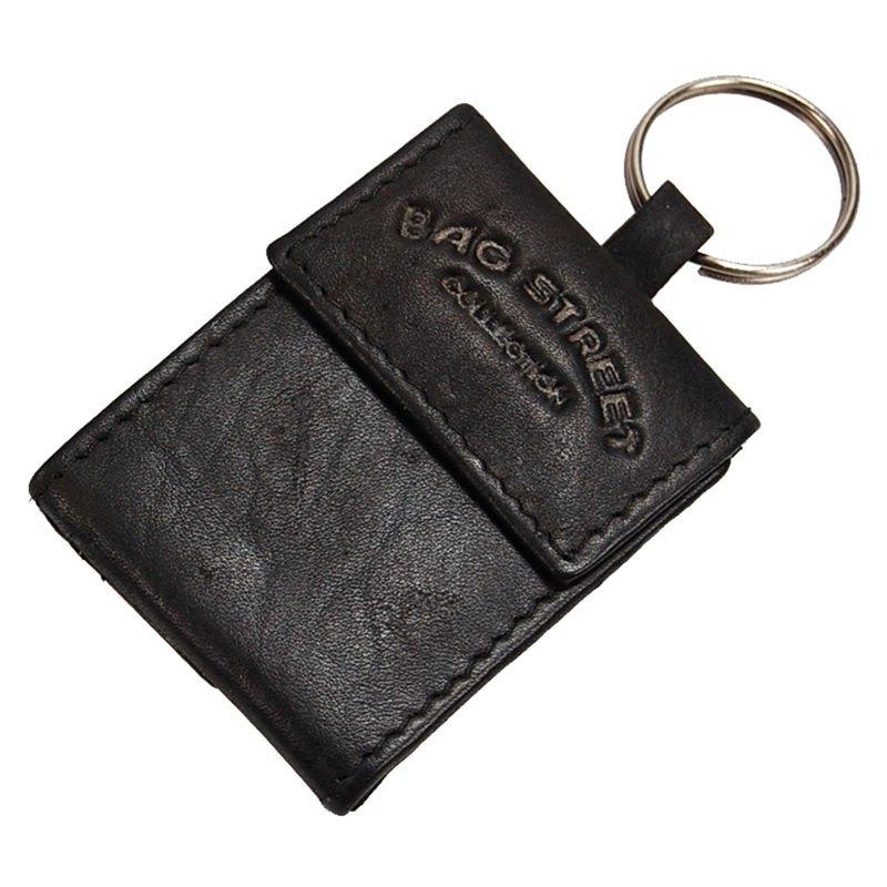 961b5eee70f1d Bag Street PORTFEL Mini z breloczkiem na klucze 581 czarny ...